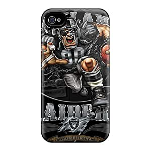 New Style Abrahamcc Oakland Raiders Premium Tpu Cover Case For Iphone 4/4s