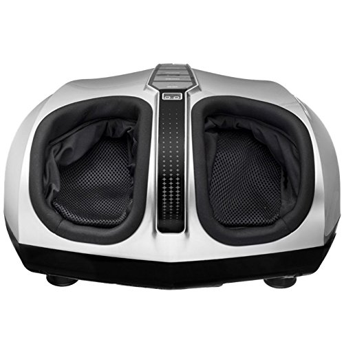 Belmint Shiatsu Foot Massager with Switchable Heat & Easy-to-Use Toe Control – Removable Cover for Easy Washing - One Year Warranty