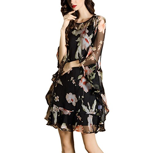 JBZYM VD79014C1 Seven Points In The Skirt Color Women Dresses - Size S