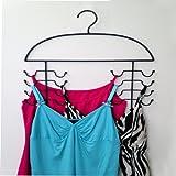 2 Womens Sport Tank Top, Cami, Bra, Strappy Dress, Bathing Suit, Closet Organizer Hangers