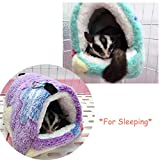 Oncpcare Winter Warm Hamster Bed, Hanging Sugar