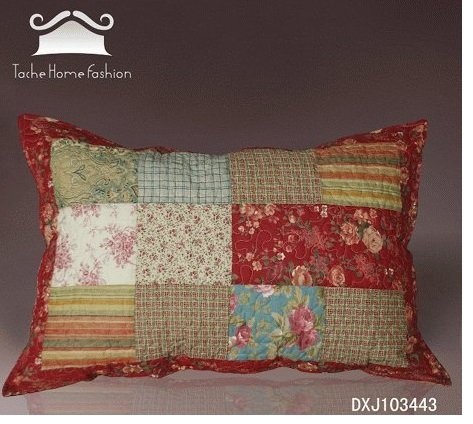 Tache 2 Piece Cotton 20X30 Inches Floral Tea Party Decorative Accent Pillow Sham Cover No Model