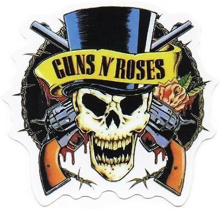 Guns n Roses - Adhesivo para monopatín, snowboard, scooter, BMX, bicicletas de montaña, ordenadores portátiles, iPhone, iPod, guitarras, etc.: Amazon.es: Hogar