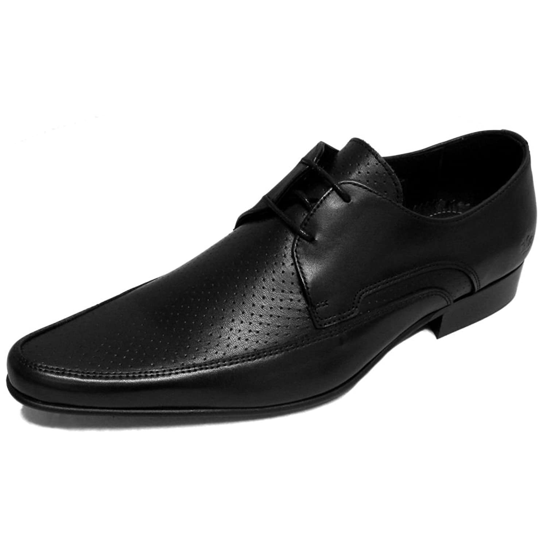 9428a9a27f0 Mens IKON Original Black Leather Jam Mod Shoe  5EzPN0402372  -  28.99