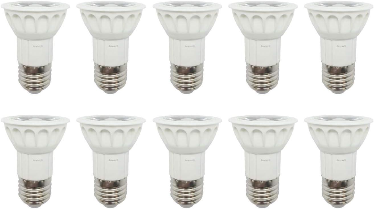 Anyray 4-LED 50-Watt Replacement Bulb for Kitchen Range Hood Bulb European Hoods Standard 50W E27 Base 4-Bulbs