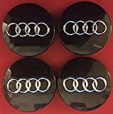 audi a6 wheel center cap - AUDI A6 A4 TT A8 A2 A3 RS4 RS6 WHEEL CENTER CAP HUBCAP 4B0601170 BLACK GLOSSY