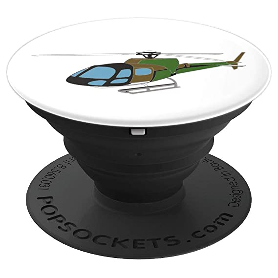 Amazon com: helicopter police officer gift - PopSockets Grip and