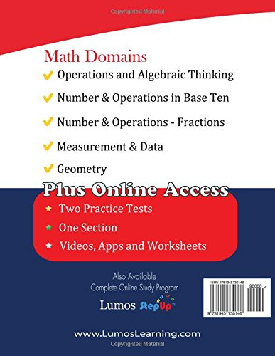 ACT Aspire Test Prep: 5th Grade Math Practice Workbook and Full ...