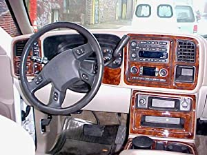 Gmc Sierra Sle Slt Interior Burl Wood Dash Trim Kit Set 2003 2004 2005 2006 Other