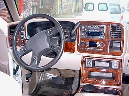 amazon com chevrolet chevy silverado interior burl wood dash trimamazon com chevrolet chevy silverado interior burl wood dash trim kit set 2003 2004 2005 2006 automotive
