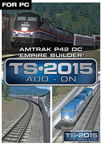 Amazon com: Amtrak P42 DC 'Empire Builder' Loco Add-On