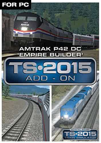 Amazon com: Amtrak P42 DC 'Empire Builder' Loco Add-On [Online Game