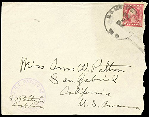 General George S. Patton Jr. - Autograph Envelope Signed (Autograph Envelope Signed)