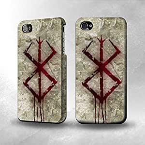Apple iPhone 4 / 4S Case - The Best 3D Full Wrap iPhone Case - Berserk Stigma
