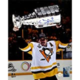 Evgeni Malkin Signed Raising The Cup 8 Inches by 10 inches Photo Frameworth Authenticated 52-840