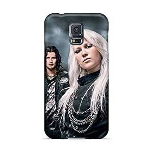 AaronBlanchette Samsung Galaxy S5 Scratch Protection Mobile Cover Allow Personal Design High Resolution Helloween Band Image [mnR5642GVaC]