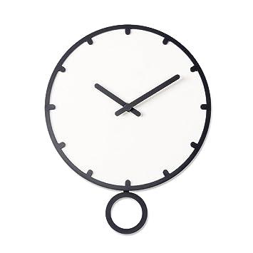 Amazon.de: Unbekannt Wanduhr Kreative Wanduhr Holz Uhr Moderne ...