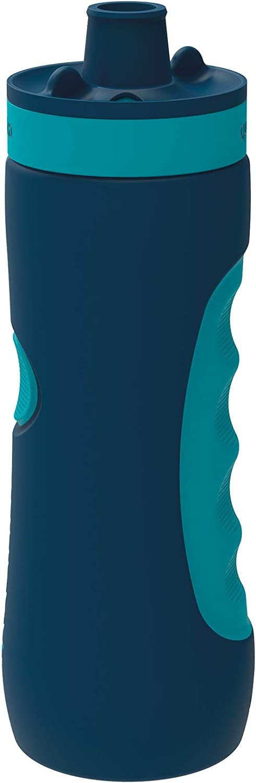 Quokka Sweat - Azurite 680 ML | Botella de Agua Deportiva Reutilizable de LDPE sin BPA | Bidón con Cierre de Seguridad para Gimnasio, Bicicleta - Ligera y Flexible