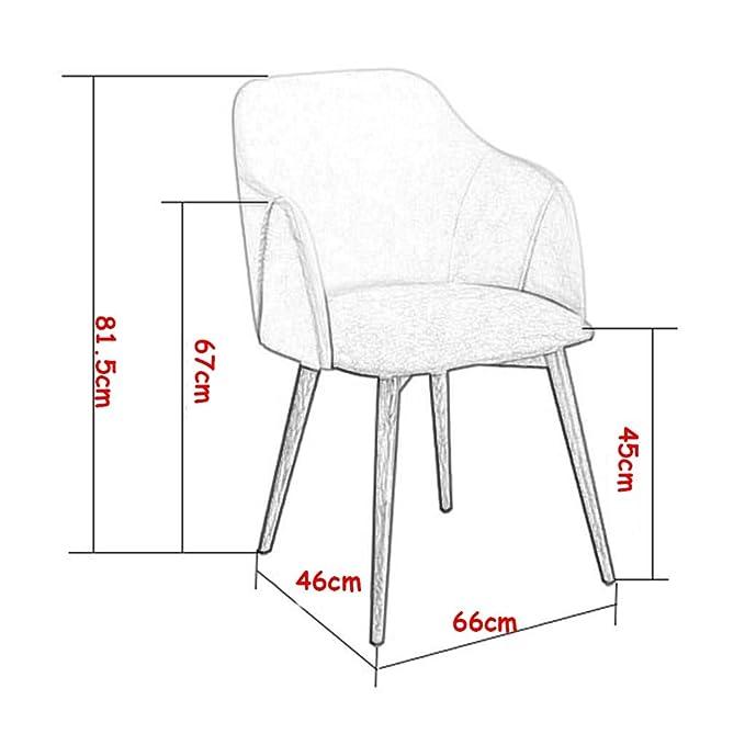 Amazon.com: Silla de escritorio ergonómica, silla auxiliar ...