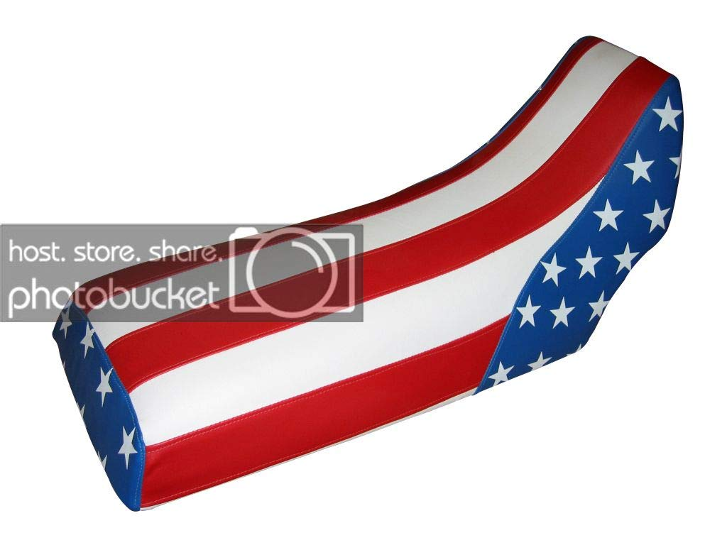 Moto Gear Graphics Seat Cover Compatible With Yamaha Banshee US Flag Seat Cover #MGGSL05623