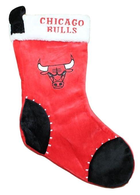95bf68ae0 Amazon.com   Chicago Bulls 2017 NBA Basic Logo Plush Christmas ...