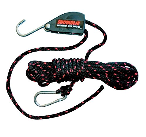 SNOBUNJE Safety Rope Ratchet With 30' Rope 30' by Snobunje (Image #1)