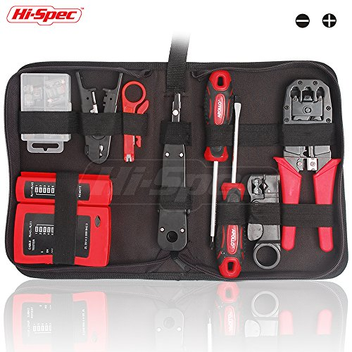Price comparison product image 19 Piece Professional Network, Computer Maintenance & Repair Tool Kit