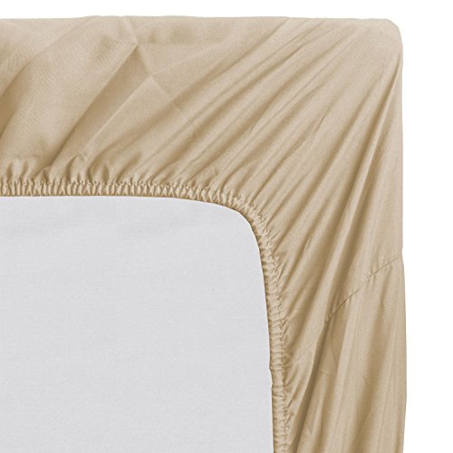 Fitted Sheet - Deep Pocket Brushed Velvety Microfiber, Breathable, Extra Soft and Comfortable - Wrinkle, Fade, Stain and Abrasion Resistant by Luxomere (King, - Orlando Outlets Designer