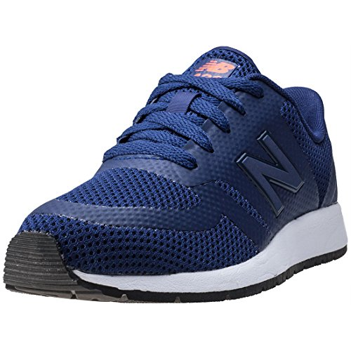 New Balance Trainers - New Balance Kids 420 Lace Shoes - Navy/Alpha Orange