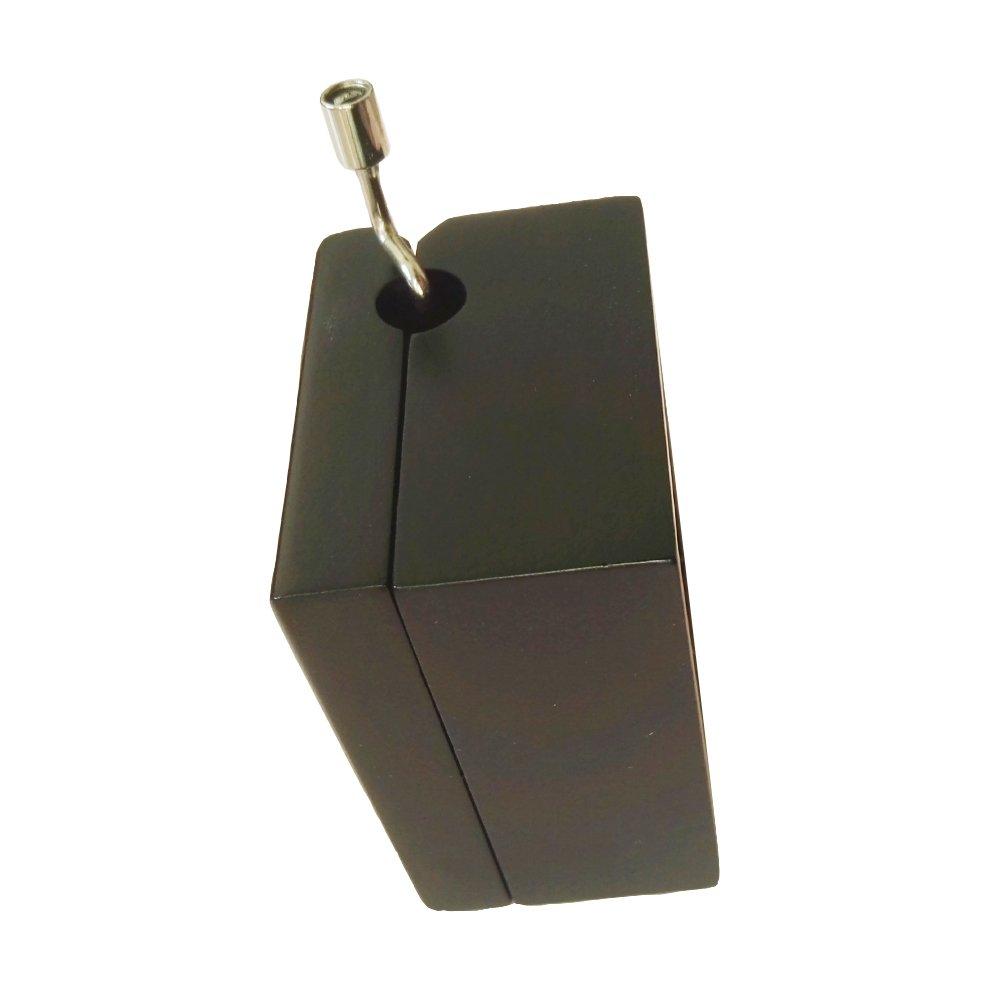 18/note manovella carillon in legno legno Music Gift Box my heart will Go on Music Box Black /& Golden
