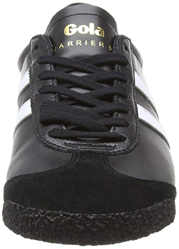 Nero Harrier Bw Gola 50 White Leather Black Uomo Black Sneaker n1dqX8d