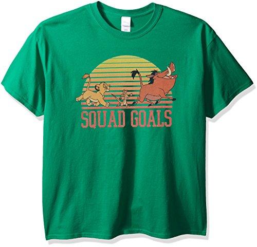 Disney Men's Classic Characters Squad Goals T-Shirt, Kelly, (Disney Characters Male)