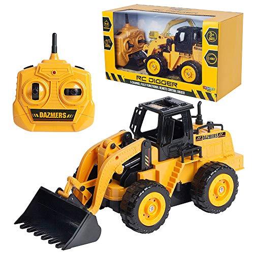 John Deere Remote Control Tractor - Build Me RC Excavator Toy -