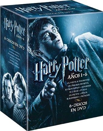 Harry Potter - Pack Años 1-6 [DVD]: Amazon.es: Daniel Radcliffe, Emma Watson, Rupert Grint, Richard Harris, John Cleese, Maggie Smith, Robbie Coltrane,