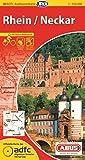 ADFC-Radtourenkarte 20 Rhein /Neckar 1:150.000, reiß- und wetterfest, GPS-Tracks Download und Online-Begleitheft (ADFC-Radtourenkarte 1:150000)