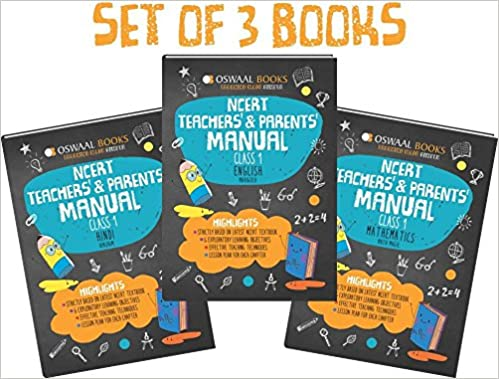 Oswaal NCERT Teachers and Parents Manual Set of 3 Books
