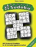60 Samurai-Sudoku, Thomas Schreier, 148494223X