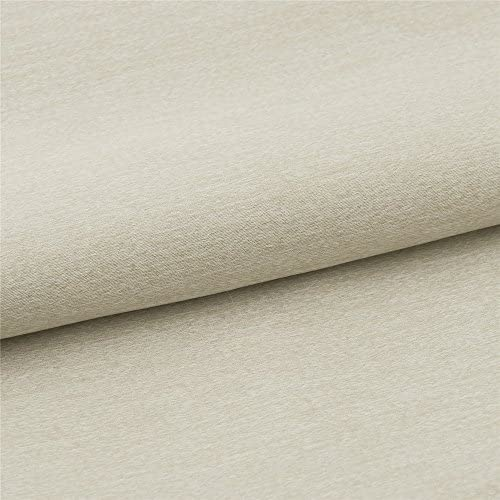 IYUEGO Warm Ivory Solid Blackout Grommet Top Curtain Draperies with Multi Size Customs 50 W x 96 L One Panel