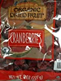 Trader Joe's Organic Dried Cranberries 8oz