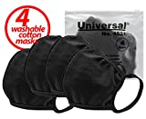 Universal 4521 Cloth Face Masks – Reusable Nose & Mouth Mask, 100% Cotton, 2 Layer, Washable Facemask, Teens & Adults – Protects from Dust, Pollen, Pet Dander & Other Irritants