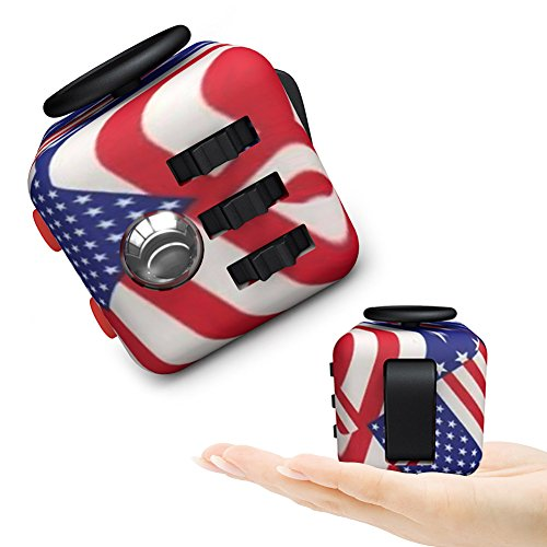 Fidget Dice Toy 6 Sides Release Stress Anxiety and Relax for Children and Adults