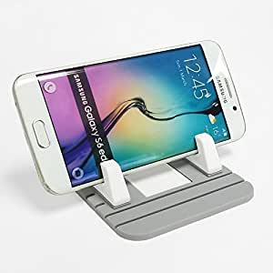 New Universal Non Slip Silicone Pad Dash Mat Cell Phone Car Mount Holder Dock For Cell Phone iPhone X iPhone 8 Samsung Galaxy Note 8 Sony XZ1 Plus LG V30 HTC U Ultra (Grey)