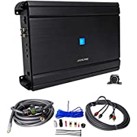 Alpine MRV-M1200 Mono 1200w RMS 2-Ohm Car Audio Stereo Amplifier+Amp Kit+Remote