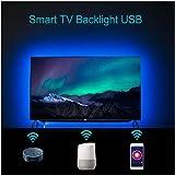 Smart Strip Lights Alexa TV Backlight Amazon Echo Google Assistant Supported USB Bias Lighting Remote APP Control Timer…