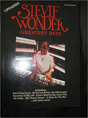 Stevie Wonder Greatest Hits Updated Pianovocalchords Stevie