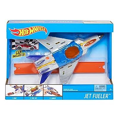 Hot Wheels Jet Refueler Vehicle: Toys & Games