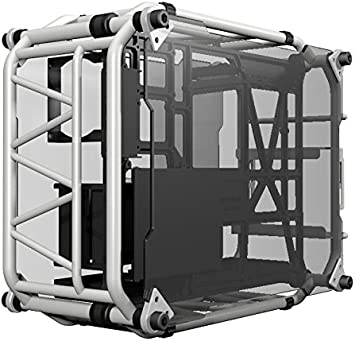 In Win Signature Motorcycle Steel Tube ATX Computer Case Cases D-Frame White White
