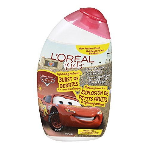 LOreal Gentle Strawberry Shampoo Characters