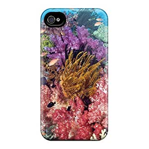 High Quality Tropical Fish Tpu Case For iphone 5c