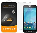 (2 Pack) Supershieldz for LG Optimus L90 Tempered Glass Screen Protector, Anti Scratch, Bubble Free
